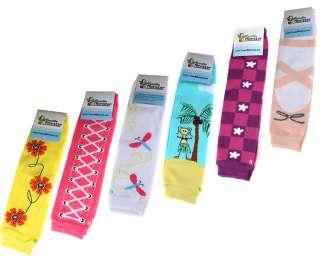 Monster New 6pc Girl Baby Toddler Leggings Baby Leg Warmers Socks Set