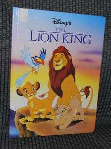 Walt Disney Disneys The Lion King Movie Book 1994 VTG