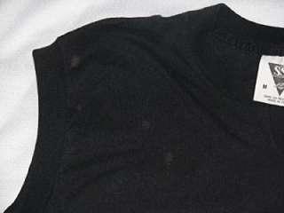 Vintage Harley Davidson Sleeveless Shirt Size Med Black