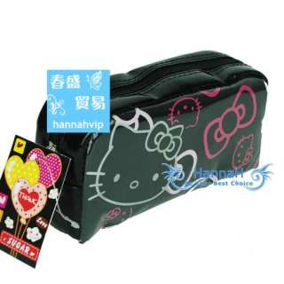 Hello Kitty Toilet Cosmetic Makeup Health Beauty Bag Purse Tote Clutch