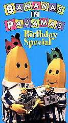 Bananas in Pajamas   Birthday Special VHS, 1996