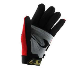 2012 Cycling Bike Bicycle super warm FULL finger gloves Size M   XL