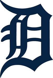 DETROIT TIGERS OLD ENGLISH D