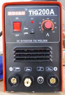 TIG200 Inverter TIG/MMA 2in1 function & 1 year warranty