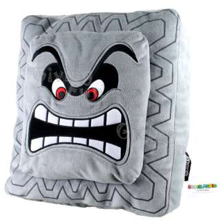 GENUINE Nintendo Super Mario Bros Thwomp Dossun Cushion Pillow Plush
