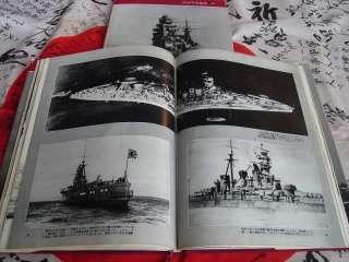 IJN Japanese Navy BATTLESHIPS Yamato Kongo Hiei Rare 2 Vol HC