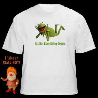 Kermit The Frog Its Not Easy Being Green Retro Shirt