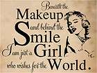 Beneath the Makeup and   Marilyn Monroe Wall Decals