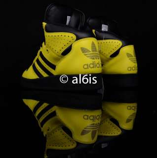 Adidas ObyO Jeremy Scott JS Instinct High Yellow V24530 Gorilla Wings
