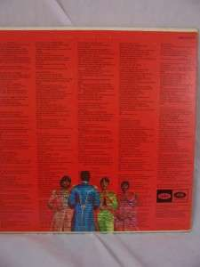 Beatles SGT PEPPERS LONELY HEARTS CLUB 1st Pressing LP