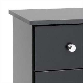Prepac 5 Drawer Chest Black Finish Dressers/Chest 772398521633