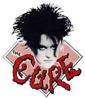 The Cure t shirt featuring Robert Smith   Very Rare
