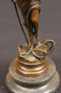 BLIND LADY JUSTICE BRONZE STATUE FOR LAWYERS FIGURINE