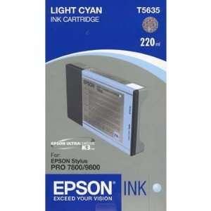 EPSON PRO 7800,9800 INK LIGHT CYAN 220ML Electronics