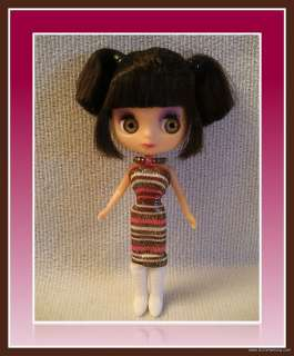 FASHION DRESS 4 MINI PETITE BLYTHE DOLL LITTLEST PET SHOP CUSTOM