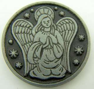 Guardian Angel Protection Catholic Devotion Prayer Coin Token Medal