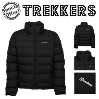 BERGHAUS MENS TYROL DOWN INSULATED WINTER JACKET   BLACK   S M L XL