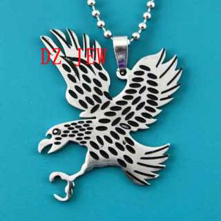 Stainless steel Spot Eagle Chain Pendant Necklace Fashion Jewelry