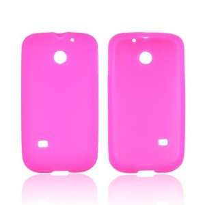 Hot Pink Silicone Case Cover For Huawei Ascend 2 M865