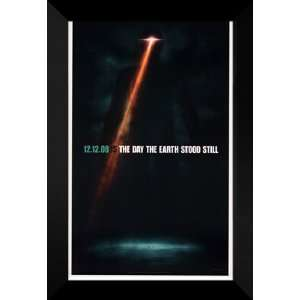 The Day the Earth Stood Still 27x40 FRAMED Movie Poster