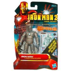Marvel Iron Man 2 Movie 3 3/4 Comic Series Iron Man
