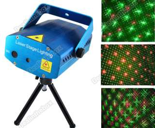 New Mini Green & Red Color Laser Stage Lighting Light DJs Party Show