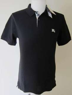 Burberry Brit Mens Black Polo Shirt All Sizes New with tags
