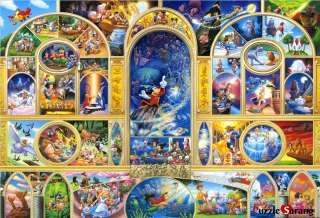 Jigsaw Puzzles 1000 Pieces Disney Character Collection II / Disney