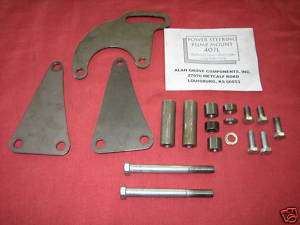 POWER STEER BRACKET BIG BLOCK GM CHEVY LONG WATER PUMP