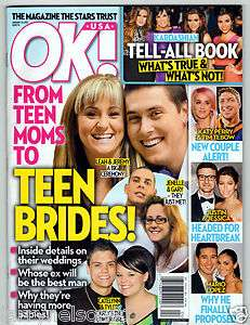 OK MAGAZINE JANUARY 23 2012 TEEN MOM KATY PERRY OLIVIA WILDE SELENA