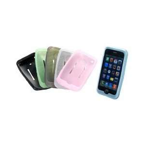 Silicone Soft Skin for iPhone 3G / iPod Touch Gen. 1 Black