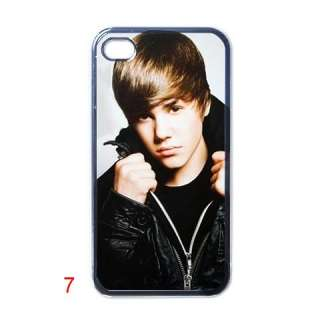 NEW JUSTIN BIEBER ASSORTED DESIGN APPLE IPHONE CASE