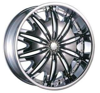 Wheel+Tire Package 20 inch Chrome 5x120 5x114.3 T706