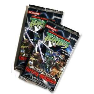 Teenage Mutant Ninja Turtles Unl. Edition Booster Packs   3 Factory