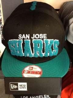 San Jose Sharks Hat New Era 9FIFTY Snapback Cap NHL Hockey Adjustable