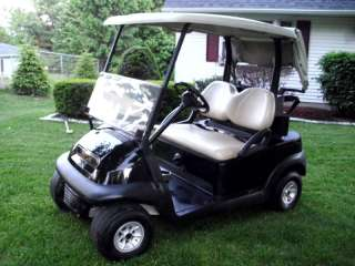 Precedent GAS POWERED Factory Black Golf Cart –  AUCTION