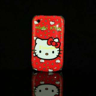 Lovely Hello Kitty Hard Case for Blackberry 8520 8530/g