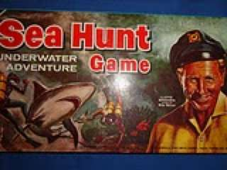 Vintage 1961 Lloyd Bridges Sea Hunt Game MINT