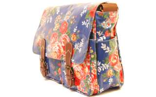 Classic Blue Candy Flower Authentic Cath Kidston Saddle Shoulder