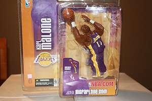 NEW McFarlane Figurine Karl Malone LA Lakers NBA