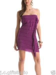 NWT $98 GUESS Tango Ruffle Layered Dress Sz S 4,5