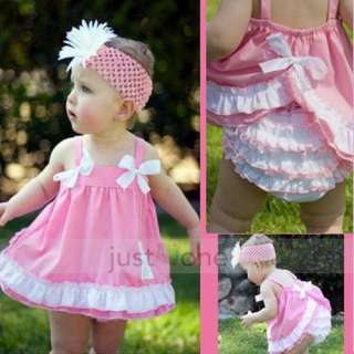 Top Dress + Pants Set New Bloomers Nappy Cover Size 0 3Y Lovely