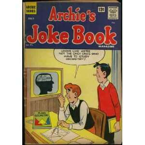 Archies Joke Book Magazine (Archie Series Comic #71) July