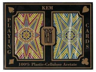KEM Stargazer Narrow 100% Plastic Cards Regular Index