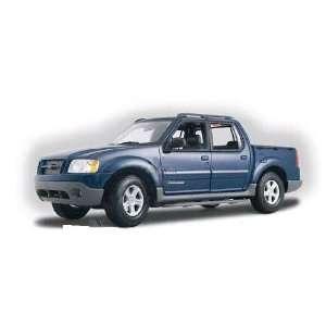 Maisto   Ford Explorer Sport Trac (1:18, Blue) diecast car