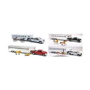 New Ray 132 Scale Die Cast Ford/Dodge Fifth Wheel Truck