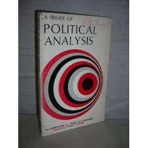 A primer of political analysis (Markham political science