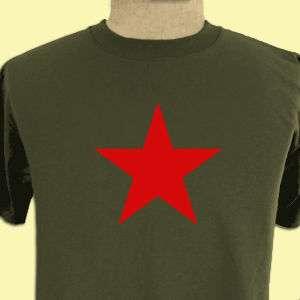 RED STAR Rock punk Gamer party Retro geek T shirt