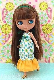 Takara Tomy Neo Blythe Prima Dolly Heather Sky Doll New