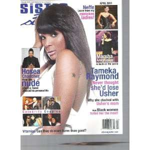 Sister,Sister Magazine (Tameka Raymond, April, 2011